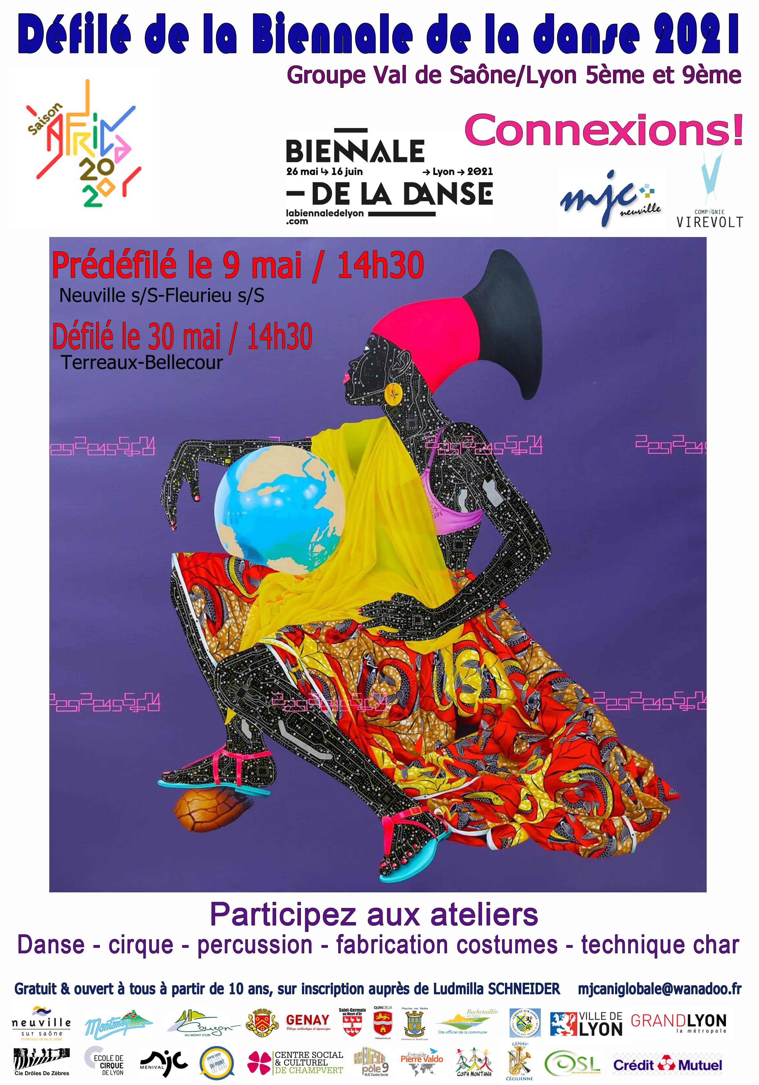 Affiche Biennale de la danse
