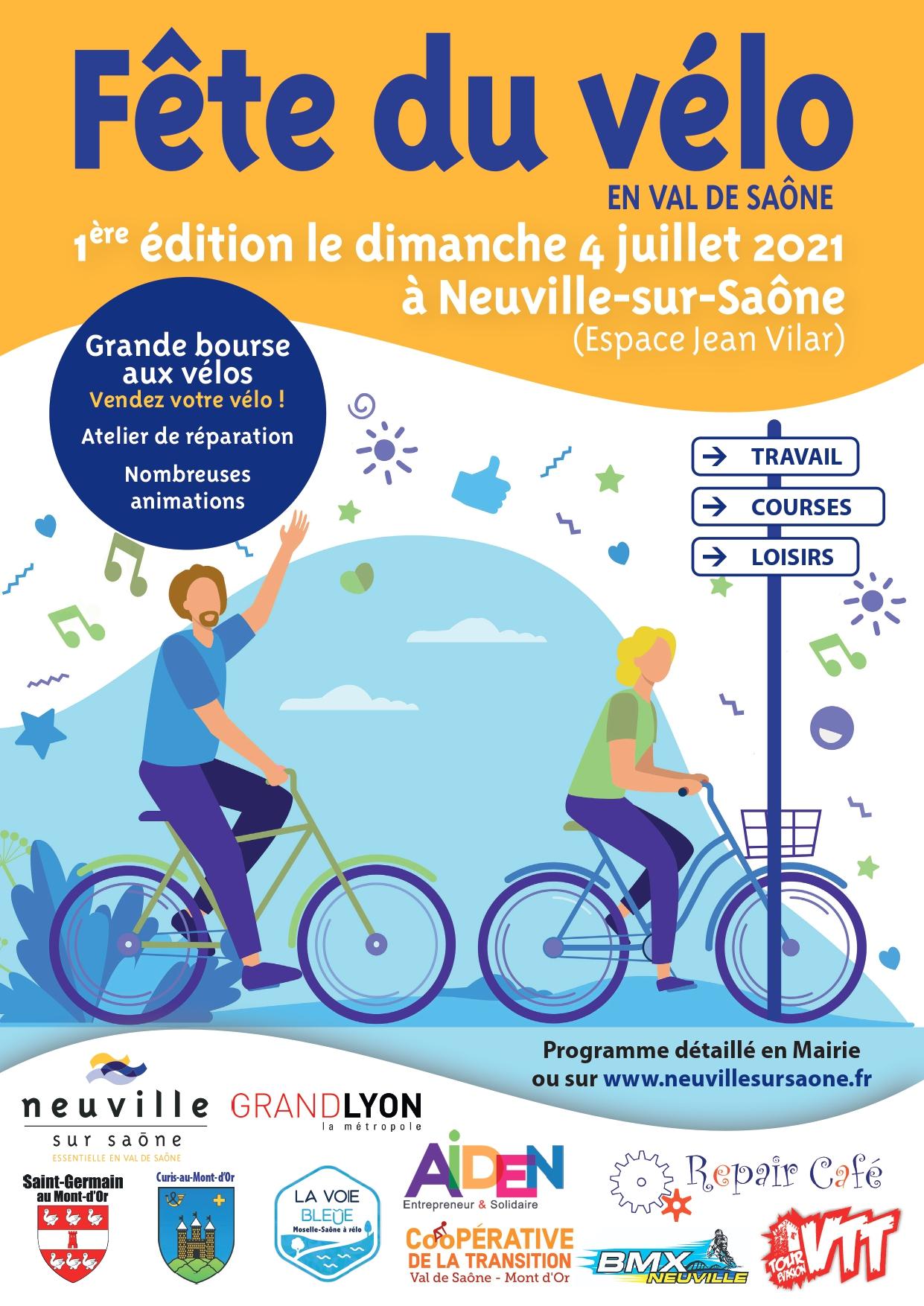 Fête du vélo @ Neuville-sur-Saône