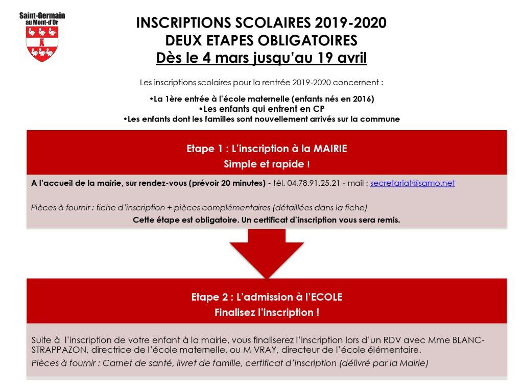 Inscription-scolaire-2019-2020-procédure