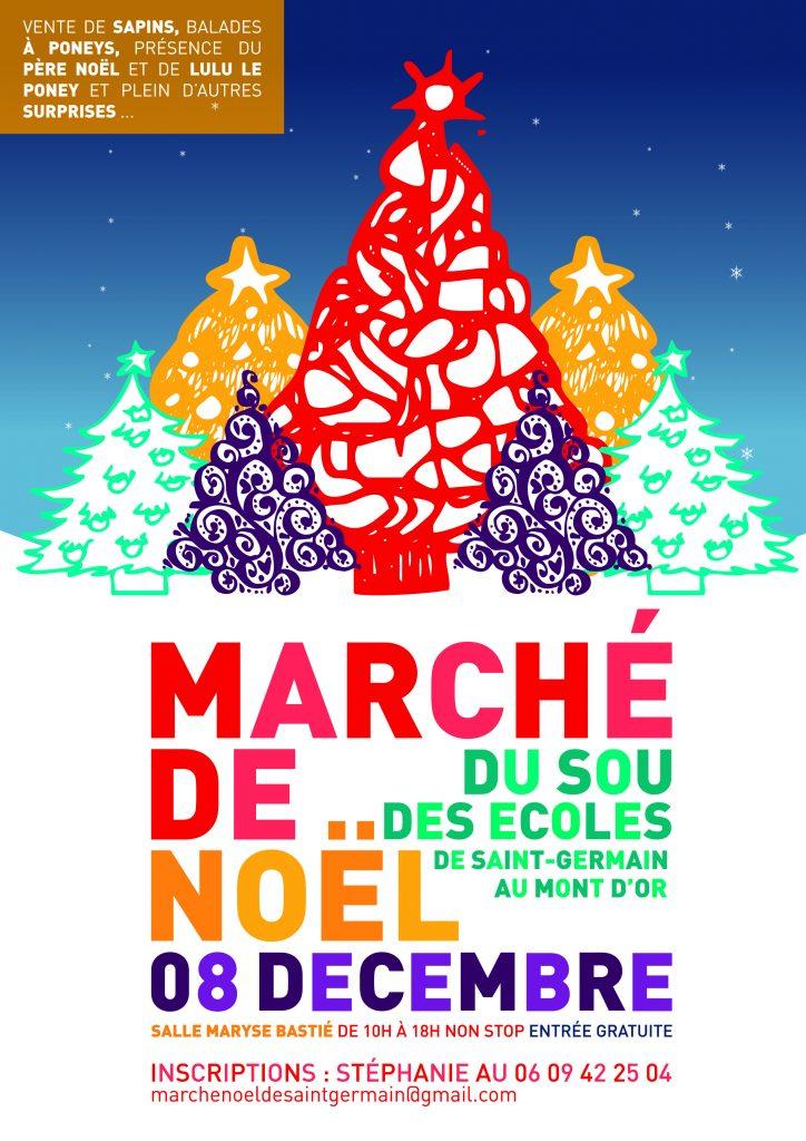 Marché de Noël du Sou @ Salle Maryse Bastié