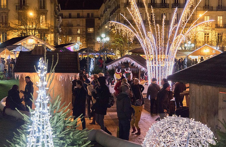 Escapade : Une journée aux Marchés de Noël de Grenoble ! @ Grenoble