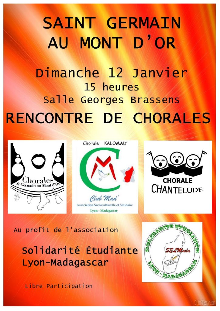 Rencontre de chorales @ Salle Georges Brassens