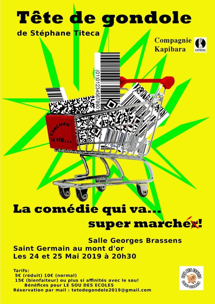 Théâtre : Tête de gondole @ Salle Georges Brassens