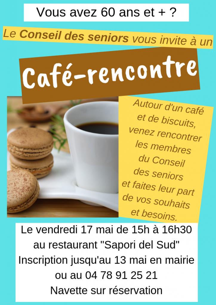 Café-rencontre seniors @ Restaurant Sapori del Sud
