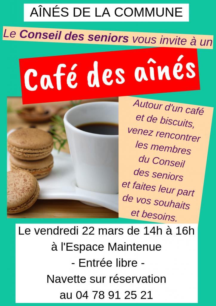 Café des aînés @ Espace Maintenue