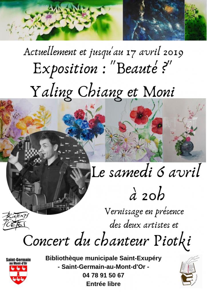 Concert de Piotki (chanson française) @ Bibliothèque