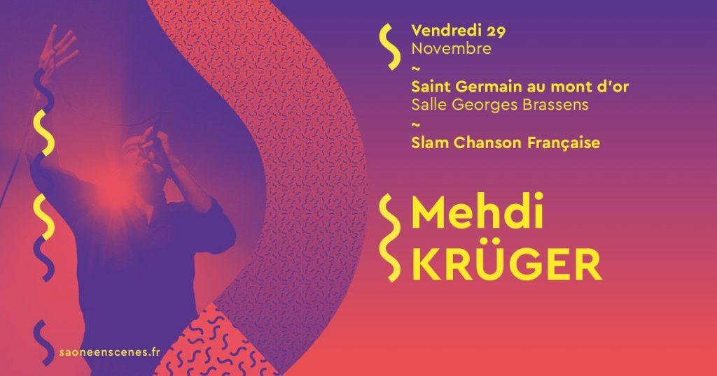 Concert de Mehdi Krüger @ Salle Georges Brassens