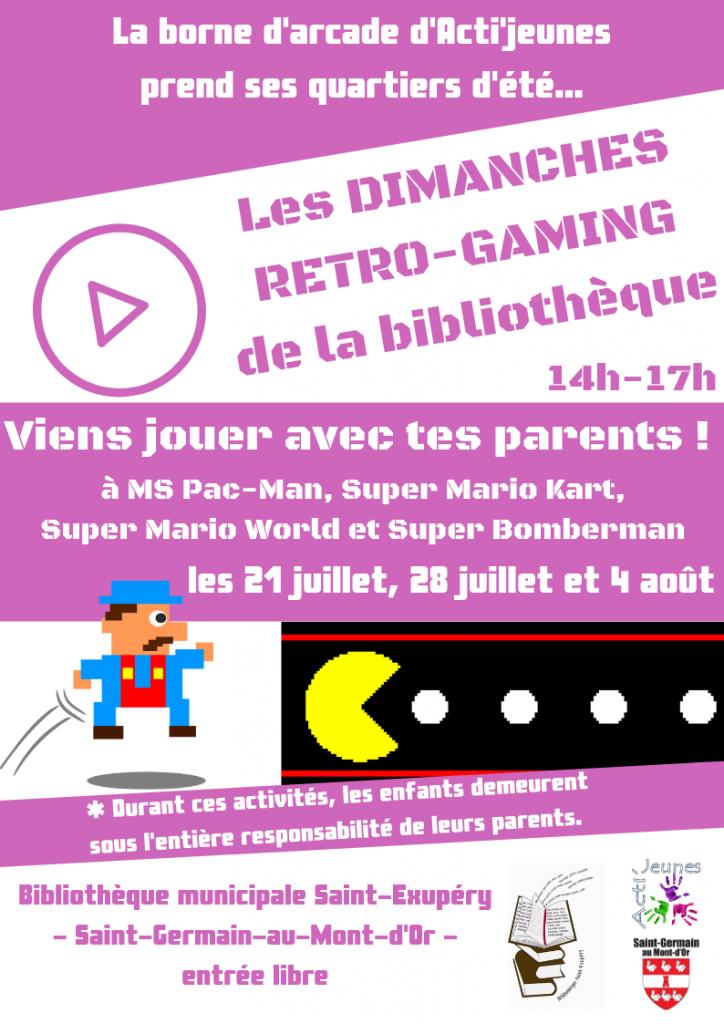 Dimanche retro-gaming @ Bibliothèque