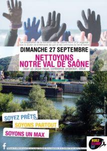 Nettoyons notre Val de Saône